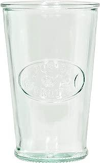 Amici Home Z7AI4474S4R, Z7AI4468S4R, Milk DOF Italian Glass, Set of 4, 11 oz, Clear