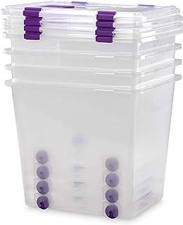 TODO HOGAR Cajas Almacenaje Plastico Grandes Multiusos con