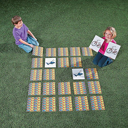 Fun Express Giant Matching Game - 48 Pieces - Educational and Learning Activities for Kids