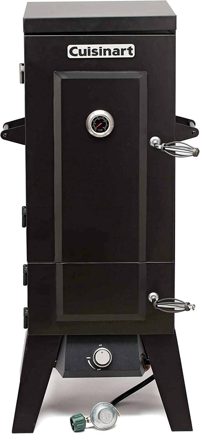 """Cuisinart COS-244 Vertical 36"""" Propane Smoker – Best for Both Amateur and Professional Cooks"""
