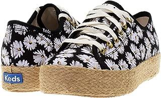 Keds Womens Triple Kick Daisy Casual Sneakers,