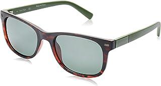 نظارة شمسية للرجال من نوتيكا، لون اسود، 54 ملم - N3641SP