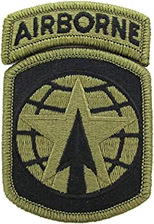 16th Military Police Brigade OCP Patch with Airborne Tab