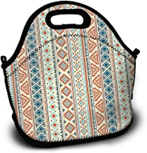 mexican oilcloth lunch bags