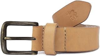 Cintura in cuoio uomo artigianale Axile personalizzabile gratis