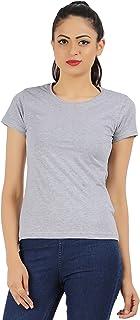 MODISH Plain Casual Women T-Shirt