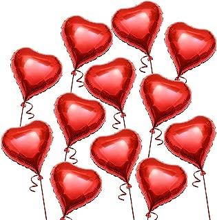 Globos Románticos Rojos