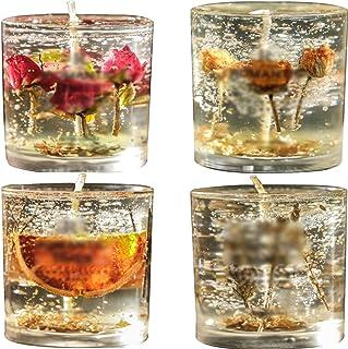 Bougie Bougies Parfumées À La Rose, Bougies D'intérieur Durables, Décorations De Campagne Romantiques De Noël, Décorations...