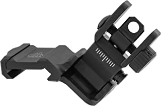 UTG Accu-Sync 45 Degree Angle Flip Up Rear Sight, Black