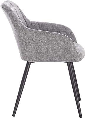 WOLTU 6 x Esszimmerstühle 6er Set Esszimmerstuhl Küchenstuhl