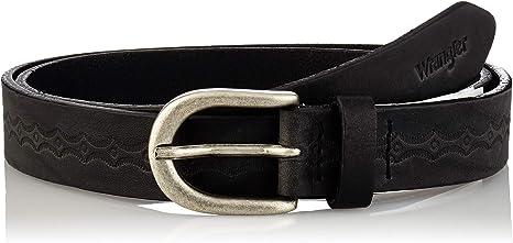 TALLA 80. Wrangler Thin Detailed Belt Cinturón para Mujer