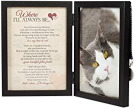 Where I'll Always Be Cat Memorial Photo Frame - Thoughtful Pet Memorial Gift