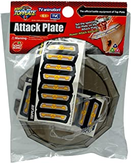 Top Plate T1000010 Attack Plate Beyblade, Multi Color