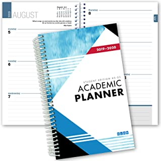 Dated Student Planner for High School or College: Dated August - July Dated for 2019-2020 (HS-03-C1)