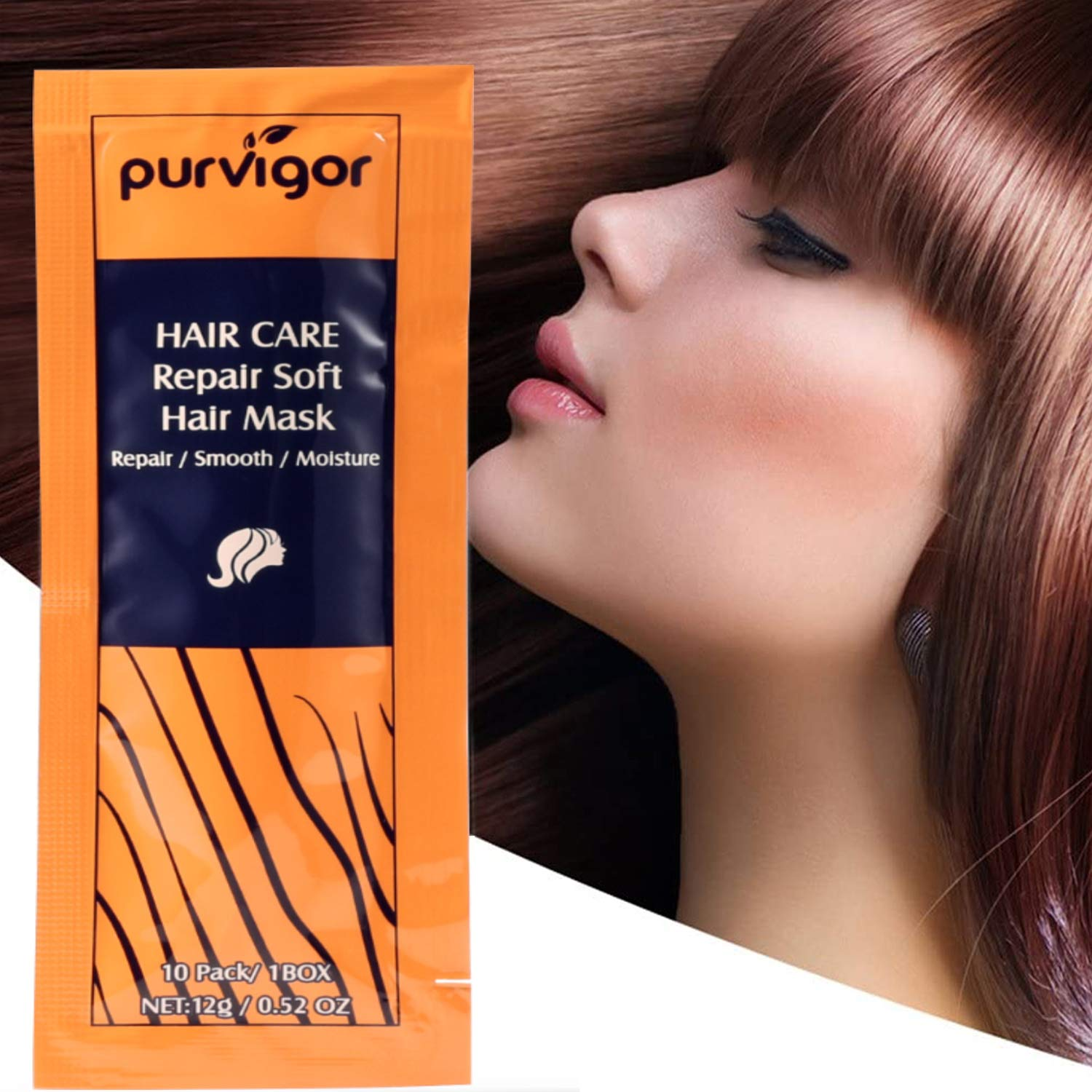 Hair Mask - 10 Factory outlet pack Natural Deep Max 68% OFF Keratin Conditioner