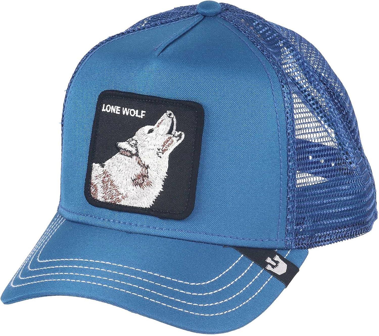 Goorin Bros. Animal Farm Wolf Trucker Hat - Blue
