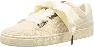PUMA Basket Heart Teddy Women Sneakers beige