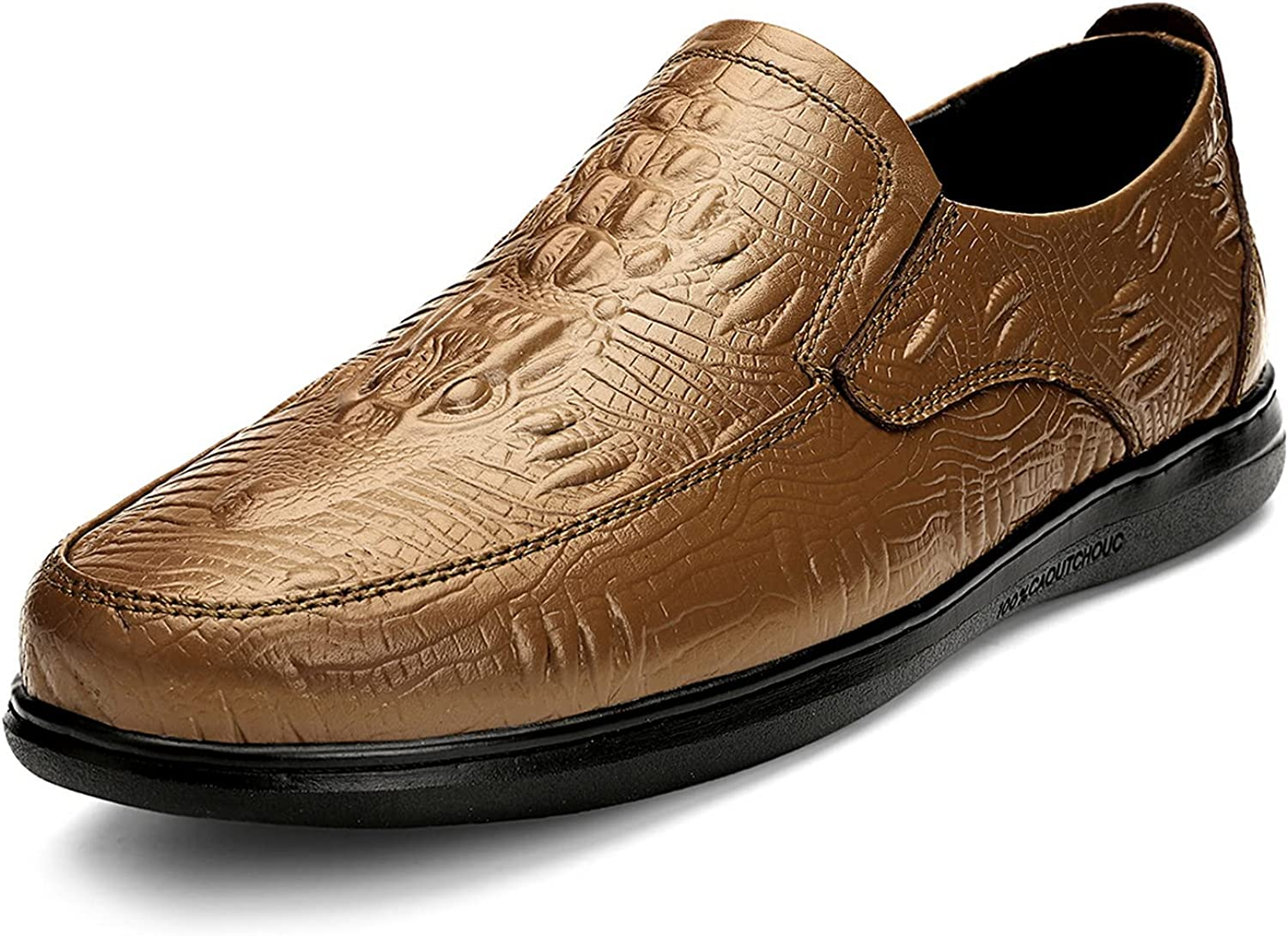 Dress Gifts Oxfords Shoes for Men Alligator Sl Leather Crocodile Print Phoenix Mall