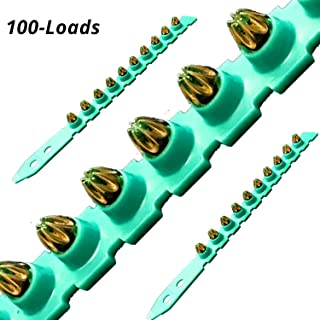 0.27 Caliber Green Shot Strip Loads, Power Fasteners Actuated Powder Loads (100-Count)