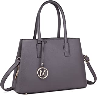 Miss Lulu Handbags for Women Shoulder Bags Tote PU Leather Cross Body Messenger Satchel Bags with Multi Compartments