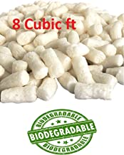 Yens Biodegradable White Packing Peanuts 60 Gallons 8 Cubic Feet to Protect Our Earth