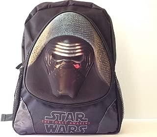 Star Wars The Force Awakens Episode 7 Kylo Ren Black Large 3D Backpack