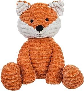 Apricot Lamb Toys Plush Corduroy Fox Stuffed Animal Soft Cuddly Perfect for Child (Corduroy Fox,8.5 Inches)