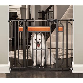 Carlson Pet Products Design Paw Extra Wide Pet Gate
