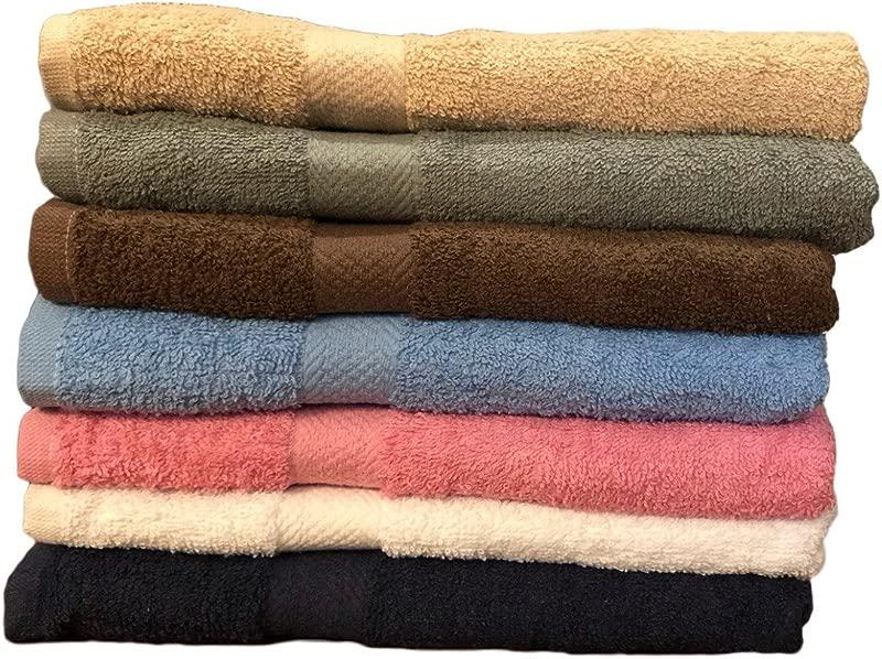 ArtMuseKitsMikash Ecotowel ECO Towels 6 Pack Bath Towels Extra Absorbent 100 Cotton 27 X 54