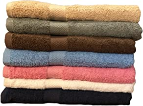ArtMuseKitsMikash ecotowel ECO Towels 6-Pack Bath Towels - Extra-Absorbent - 100% Cotton - 27