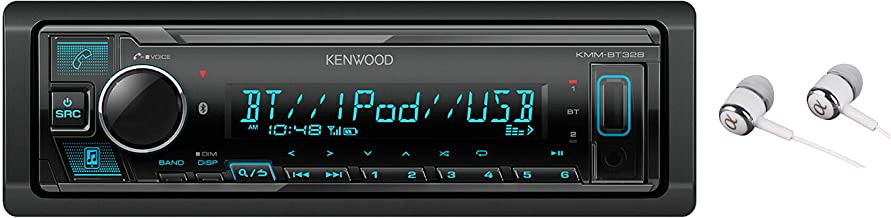 Kenwood Bluetooth USB MP3 WMA AM/FM Digital Media Player...