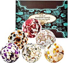 6 Pack 100g Bath Bombs Gift Set Large,Bath Fizzies All Natural with Organic Shea & Cocoa Butter for Women/Girls / Men