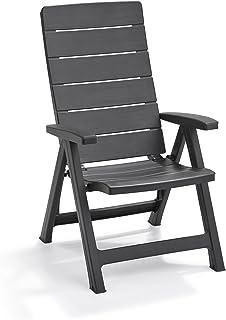Amazon.es: sillas reclinables de jardin: Jardín