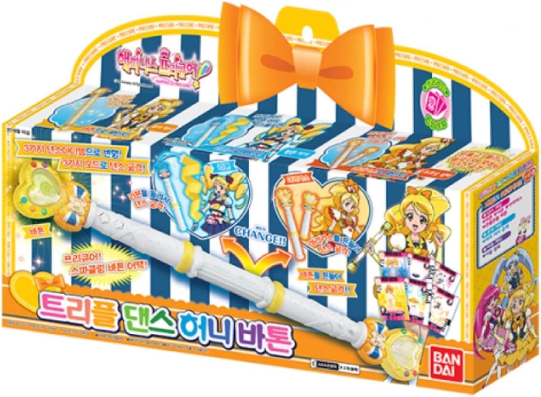 Happiness Charge 卓越 PreCure 売れ筋 Triple Dance Costume BANDAI Honey Baton