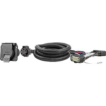 amazon.com: curt 56431 vehicle-side custom rv blade 7-pin trailer wiring  harness, select ford ranger: automotive  amazon.com
