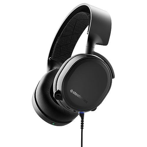 SteelSeries Arctis 3 Bluetooth - Casque de Jeu Filaire et sans Fil - pour Nintendo Switch, PC, PlayStation 4, Xbox One, RV, Android et iOS - Noir [Édition 2019]