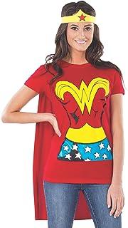Rubie's Costume DC Comics Wonder Woman Playera con Capa