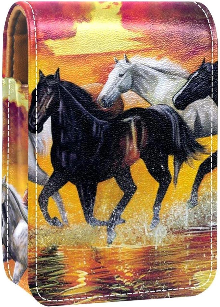 Horses Max 68% OFF Runs Ranking TOP14 In Splashes Water Prints Case Lipstick Mini