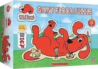 MasterPieces Floor 36 Puzzle Puzzles Collection - Clifford Floor Puzzle 36 Piece Jigsaw Puzzle