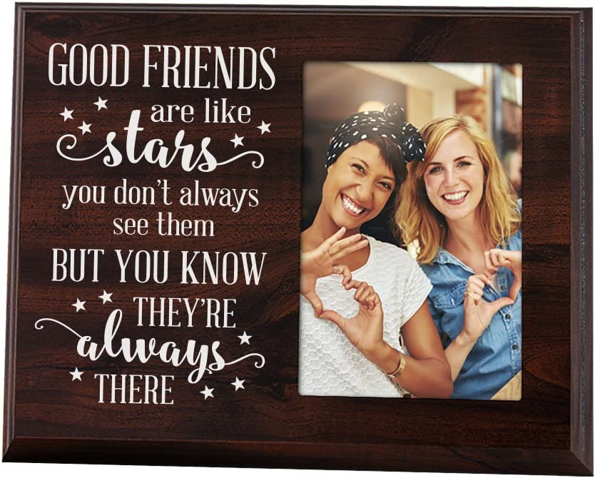 best friends favorite friend my best Friend, Lighted Picture frame Friends are like Stars Perfect Gift for Friends