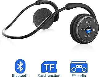 Casque Bluetooth sans Fil,Ecouteur Bluetooth Sport Étanche Casque Audio Stéréo Hi-FI..