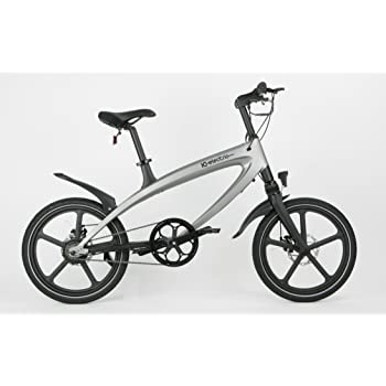 IC Electric Alfa Bicicleta Eléctrica, Plata, Talla Única: Amazon ...