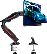 MOUNTUP Single Monitor Arm Desk Mount - Gaming Monitor Arm Mount, Adjustable Monitor Mount for 1 LCD Screen Up to 32 Inch ...