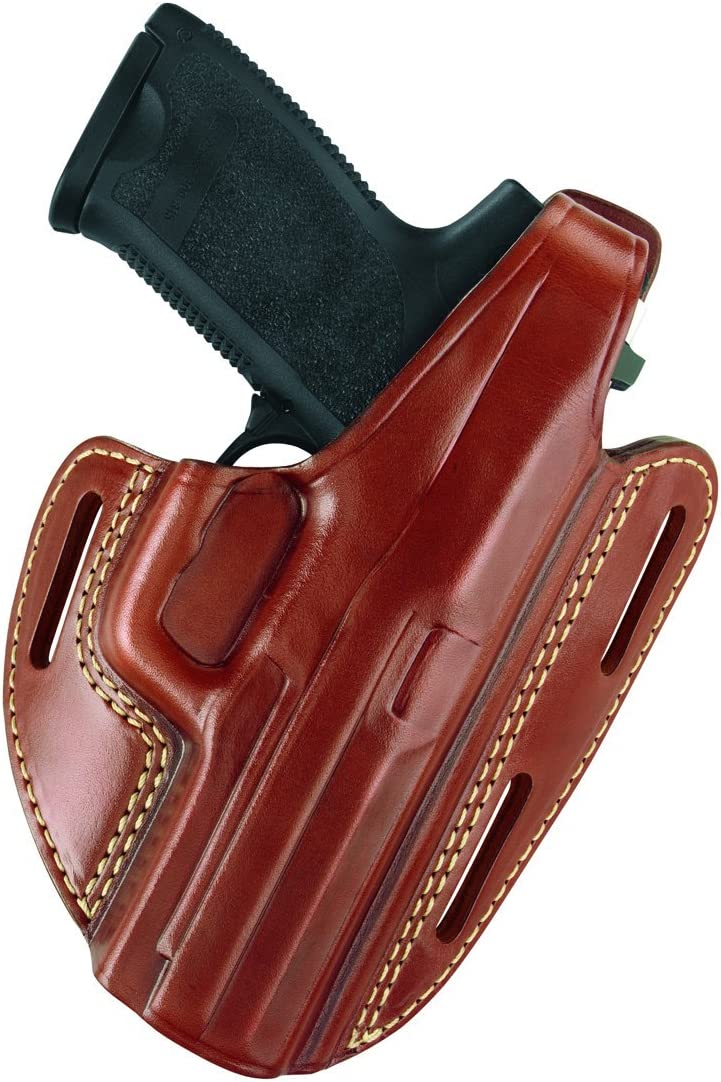 Gould Goodrich 803-195 Gold Line Holster Special price for a limited time Three Pancake Slot Max 82% OFF C