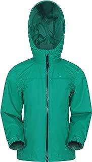 Mountain Warehouse Torrent Kids Waterproof Rain Jacket - Boys & Girls