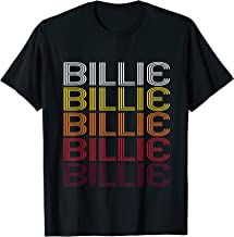 Billie Retro Wordmark Pattern - Vintage Style T-shirt