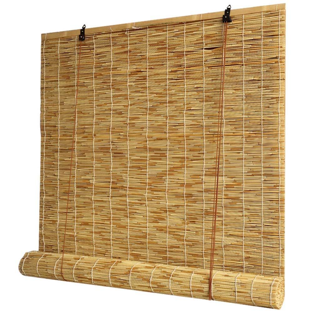 Flsdj Kjl Lifting Reed Rodillo-hasta Shade, Persianas De Protección UV, Blind Bamboo Curtain, Cortinas Decorativas, Impermeables Y A Prueba De Humedad (el Tamaño Se Puede Personalizar): Amazon.es: Hogar