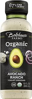Bolthouse Farms Organic Avocado Ranch Dressing, 12 oz