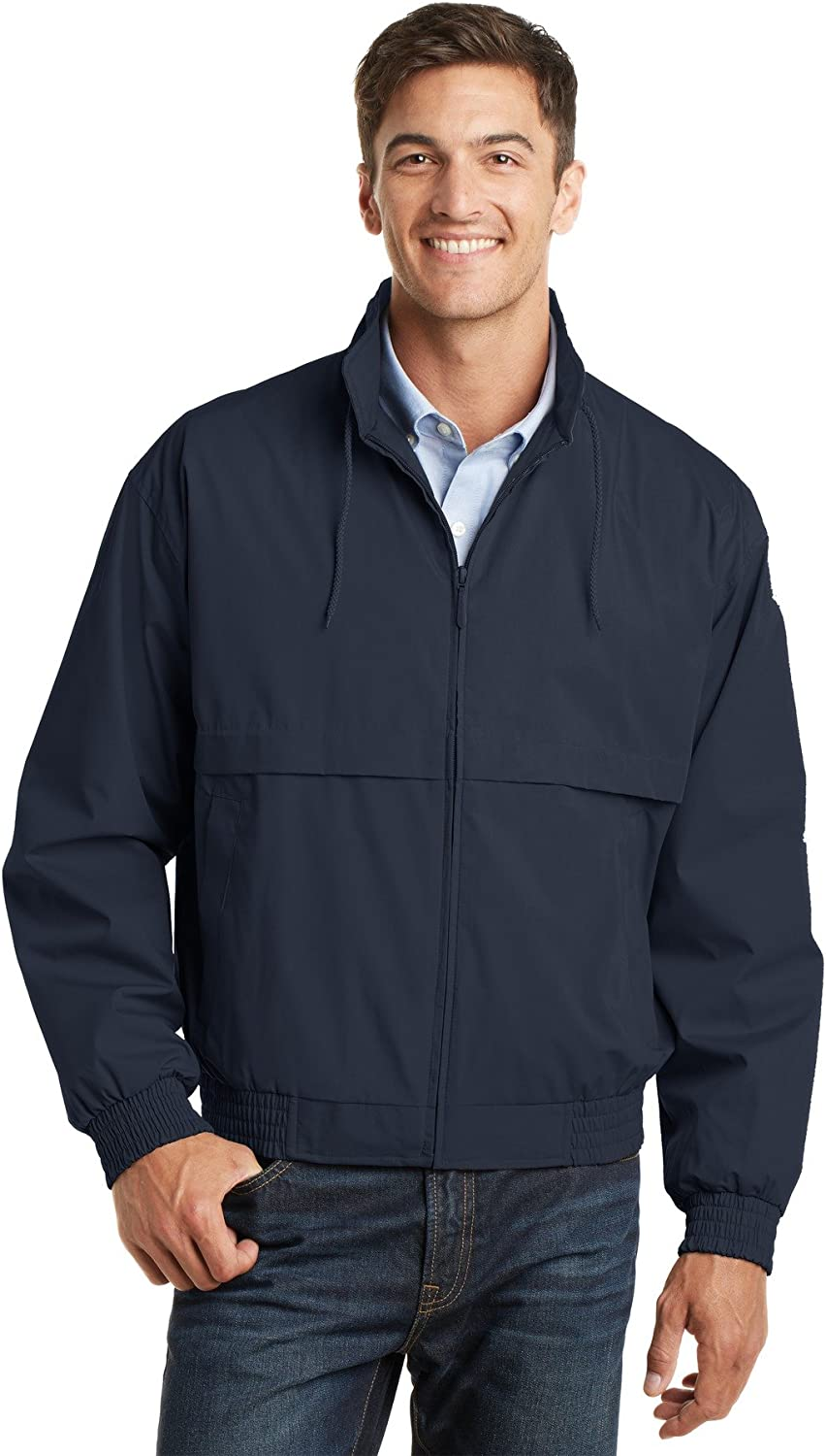 Port Authority Men's Classic Poplin Jacket in Your Choice of Colors