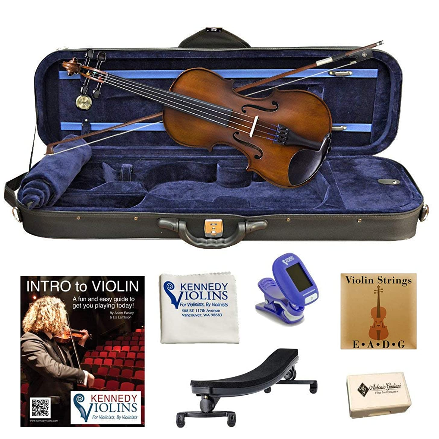 Bunnel Premier Clearance Student Violin Outfit 1/16 Size RB360